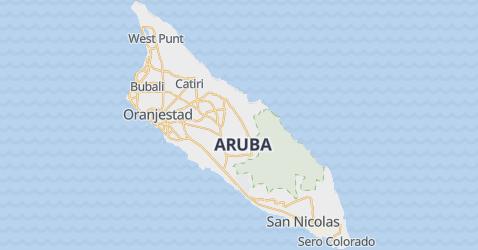 Karte von Aruba