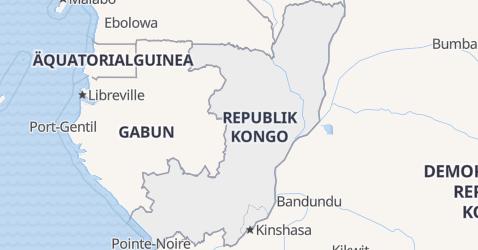 Karte von Kongo