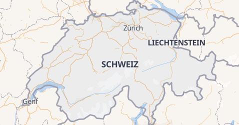 Karte von Schweiz