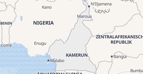 Karte von Kamerun