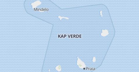 Karte von Kap-Verde