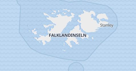 Karte von Falklandinseln