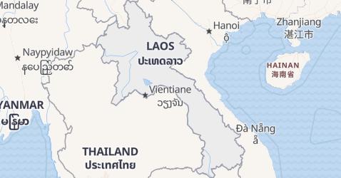 Karte von Lao