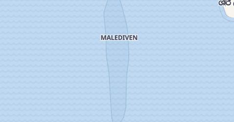 Karte von Malediven