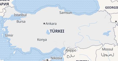 Karte von Türkei