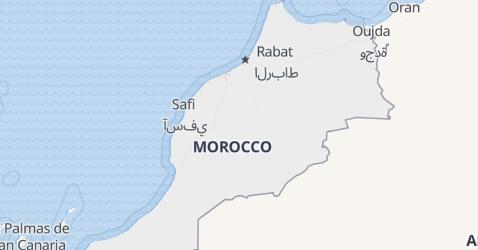 Morocco map
