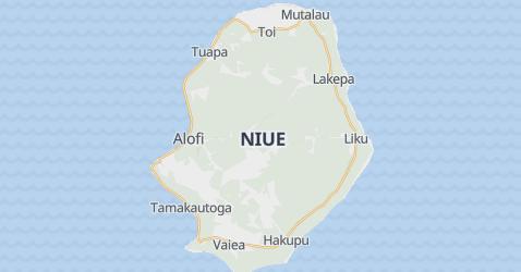 Niue map
