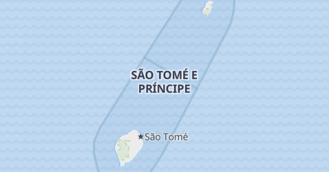 Sao Tome and Principe map