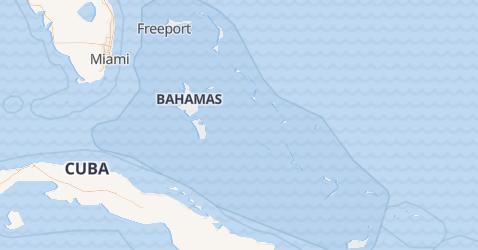 Mapa de Bahamas