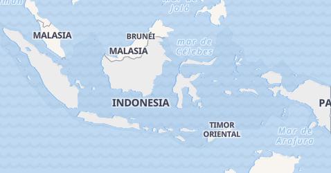 Mapa de Indonesia