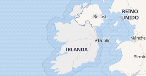 Mapa de República de Irlanda
