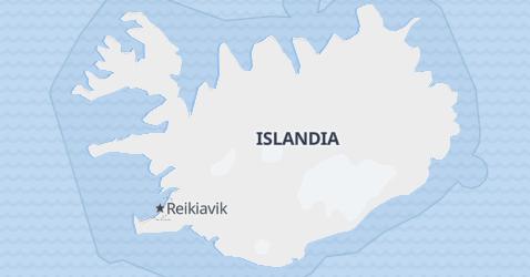Mapa de Islandia