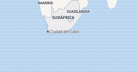 Mapa de República de Sudáfrica