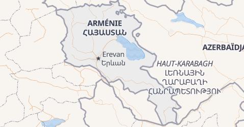 Carte de Arménie