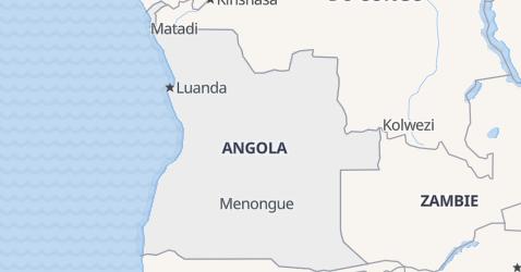 Carte de Angola