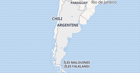 Carte de Argentine