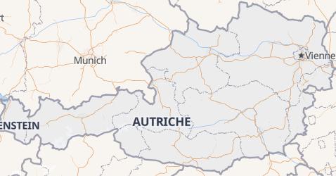 Carte de Autriche
