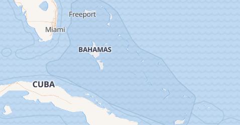 Carte de Bahamas