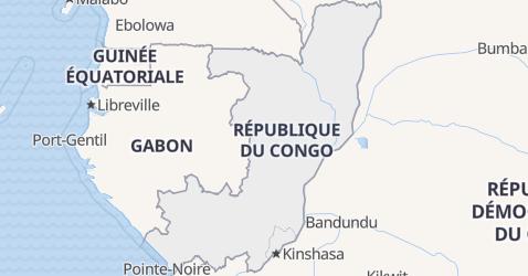 Carte de Congo
