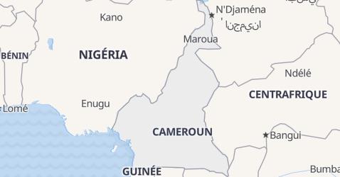 Carte de Cameroun