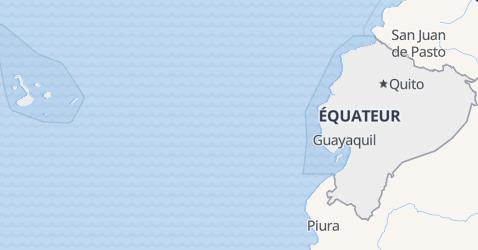 Carte de Équateur