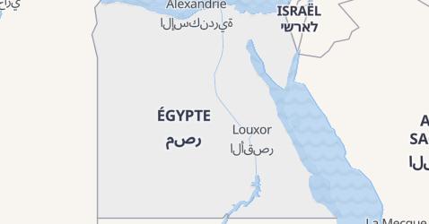 Carte de Égypte