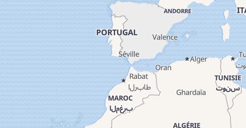 Carte de Espagne