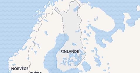 Carte de Finlande