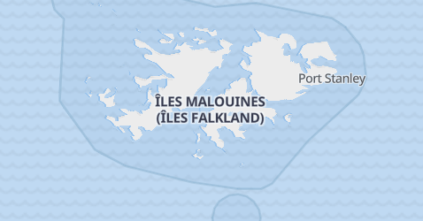 Carte de Îles Malouines
