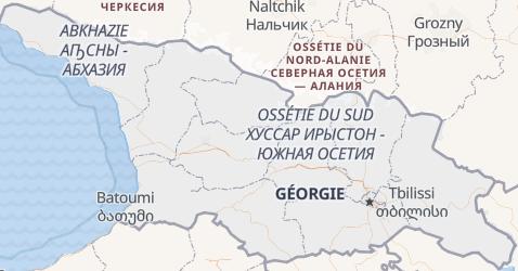 Carte de Géorgie