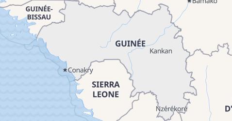 Carte de Guinée