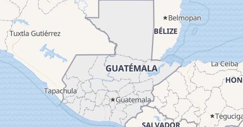 Carte de Guatemala