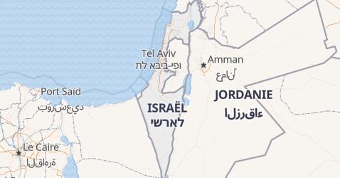 Carte de Israël