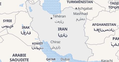 Carte de Iran