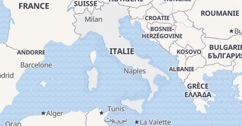 Carte de Italie