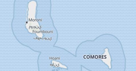 Carte de Comores