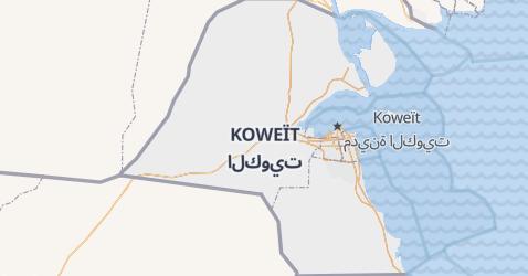 Carte de Koweït