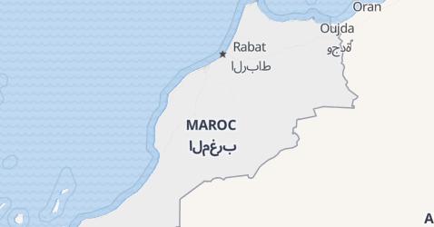 Carte de Maroc