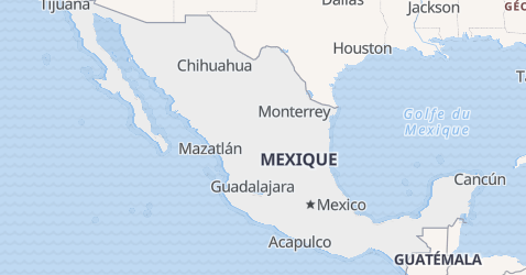 Carte de Mexique