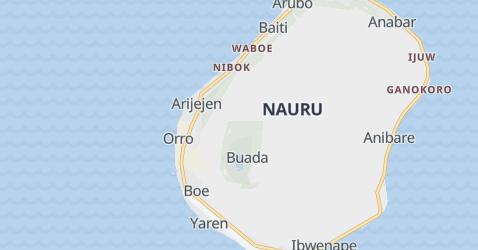 Carte de Nauru
