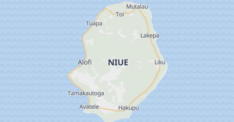 Carte de Nioué