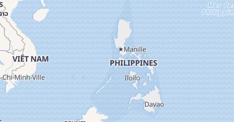 Carte de Philippines