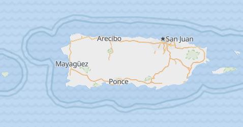 Carte de Porto-Rico