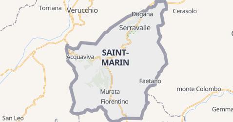 Carte de San Marino