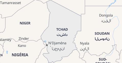 Carte de Tchad