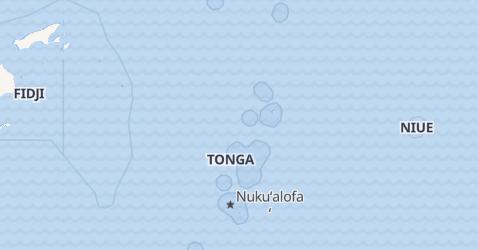 Carte de Tonga