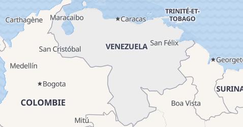 Carte de Venezuela