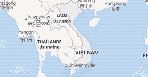 Carte de Viêt Nam