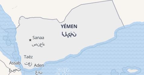 Carte de Yémen