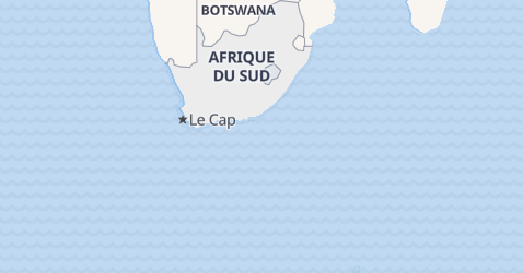 Carte de République Sud-Africaine